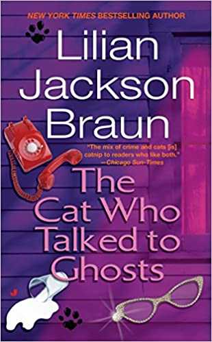 "Lilian Jackson Braun, author of ""The Cat Who Talked to Ghosts"""